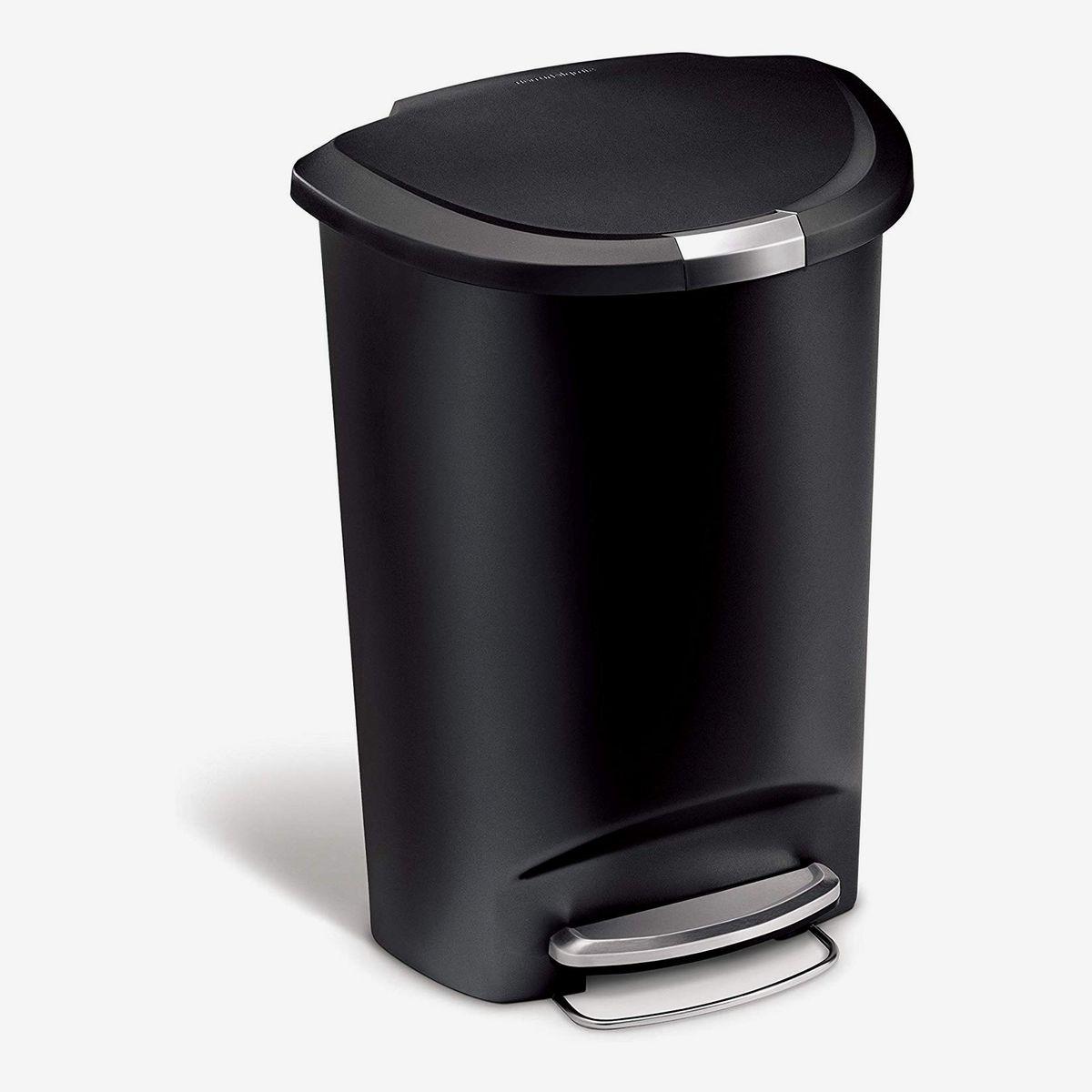 Waste Paper Bin Waste Basket Home Work Office Rubbish Bin Container Dustbin