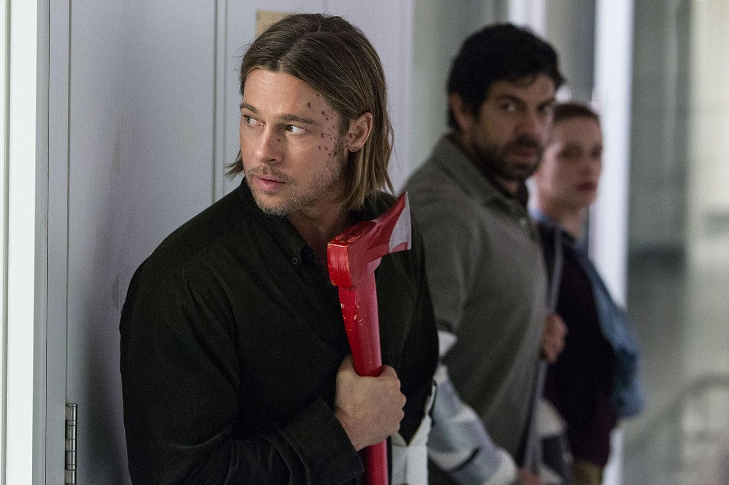 World War Z S Biggest Mystery What Was Up With Brad Pitt S Hair