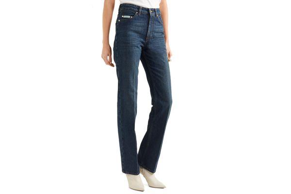 Alexa Chung High-Rise Flared Jeans