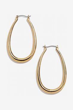 Baublebar Sophia Hoop Earrings