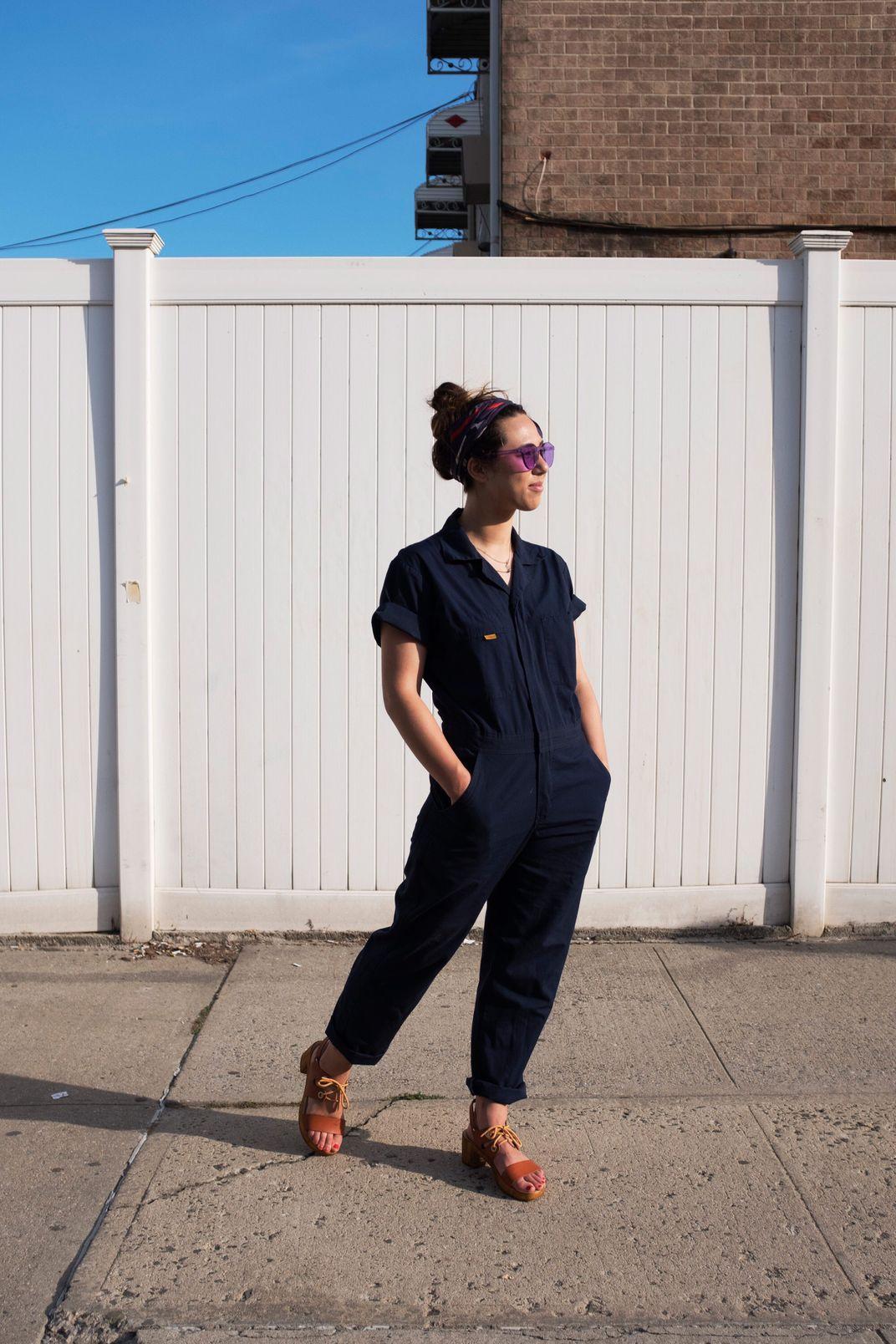 Five Rock Poplin Short-Sleeve Unlined Coveralls Regular Fit