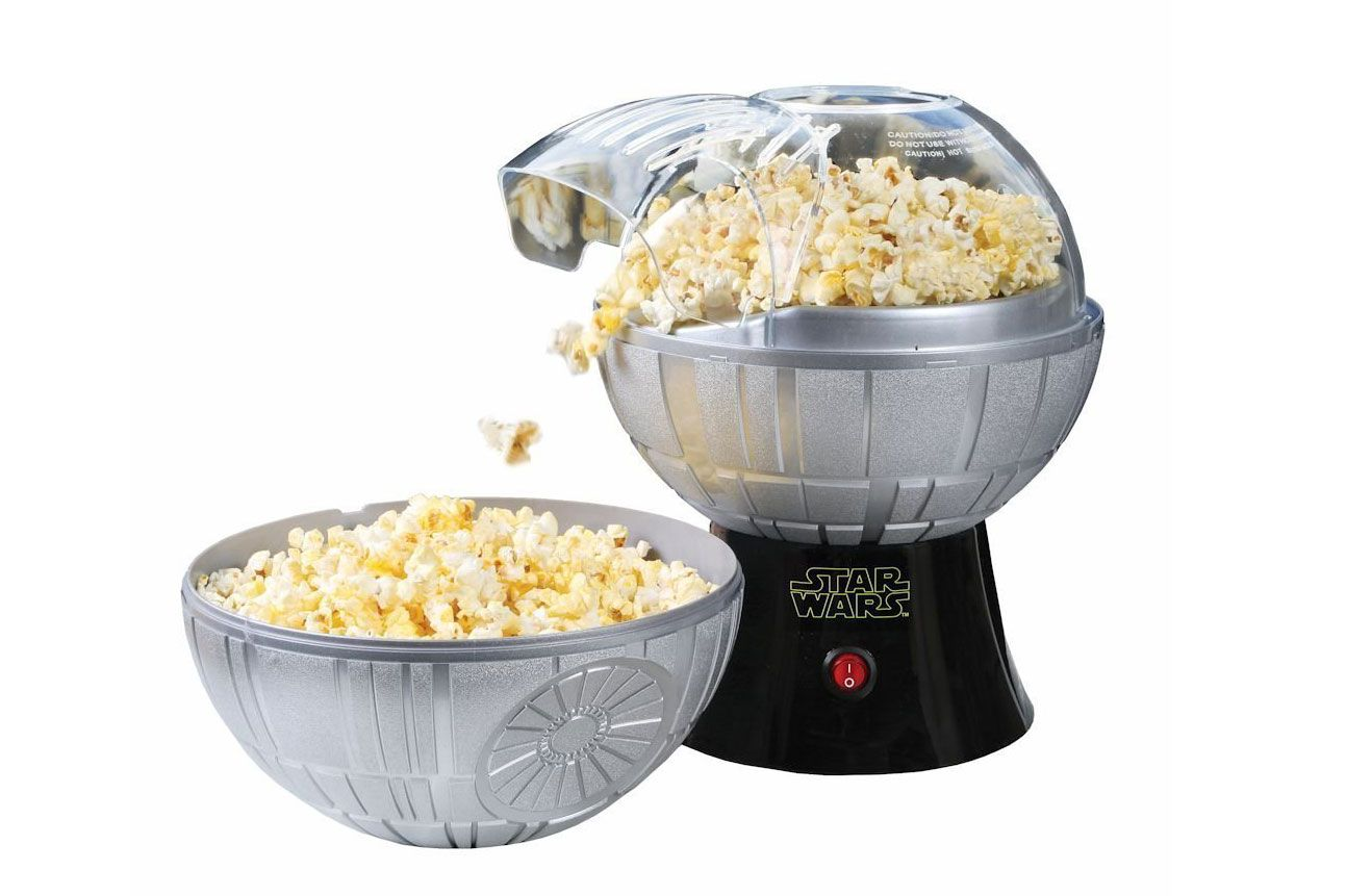 Star Wars Death Star Popcorn Maker — Hot Air Style with Removable Bowl