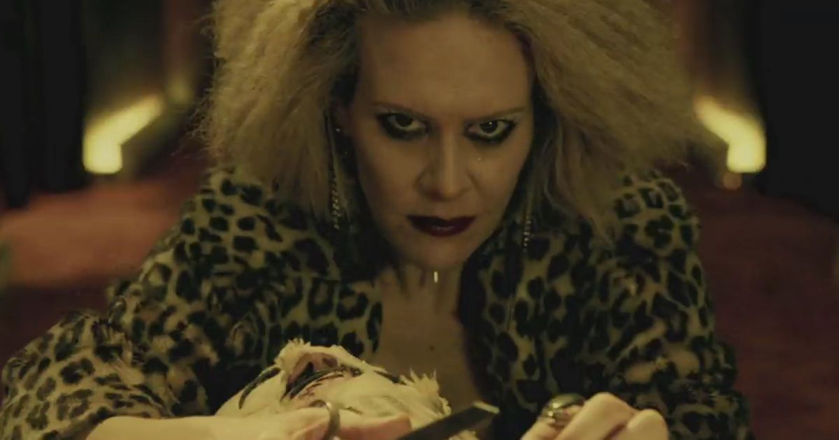 Someone Left These First Looks From American Horror Story: Hotel on Your Pillow