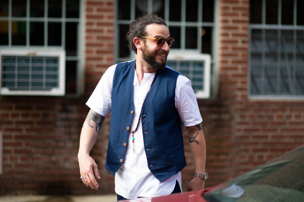The First Street Style From New York Fashion Week Men 39 S
