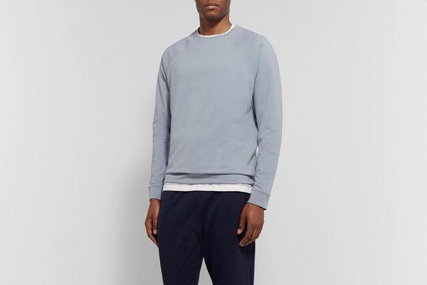 Håndværk Stretch-Pima Cotton Sweatshirt