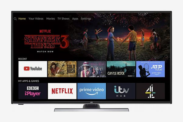 JVC Fire TV Edition 40-inch Smart 4K Ultra HD HDR LED TV