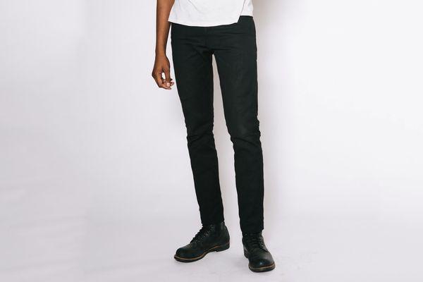 Imogene + Willie Charlie Black Rigid Jeans