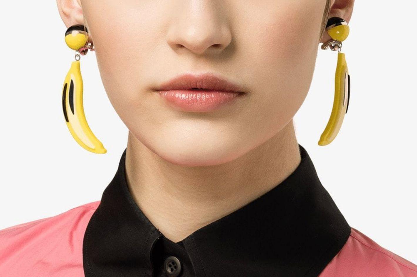 Prada Pop Banana Earrings