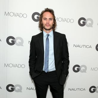 NEW YORK, NY - OCTOBER 22: Actor Taylor Kitsch attends the 2014 GQ Gentlemen's Ball at IAC HQ on October 22, 2014 in New York City. (Photo by Neilson Barnard/Getty Images for GQ)