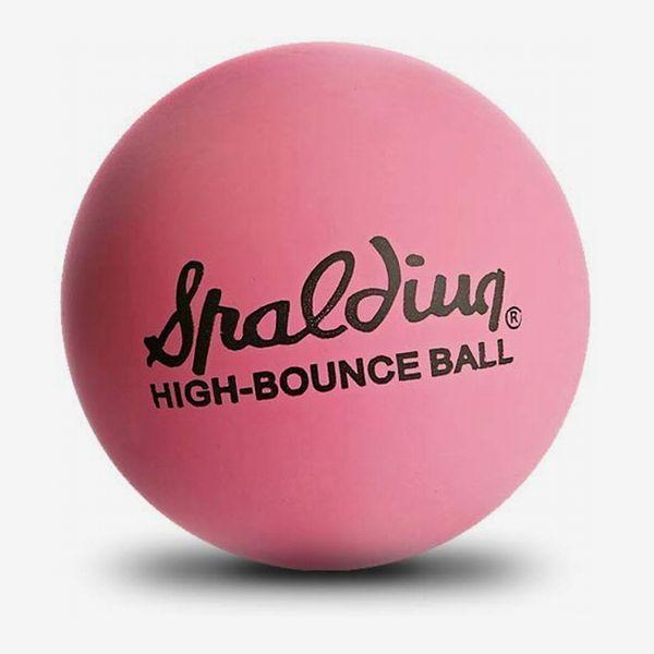 Spalding High-Bounce Pink Ball