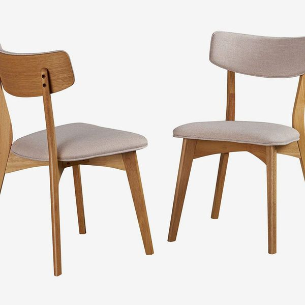 Christopher Knight Home Abrielle Mid-Century Modern Dining Chairs