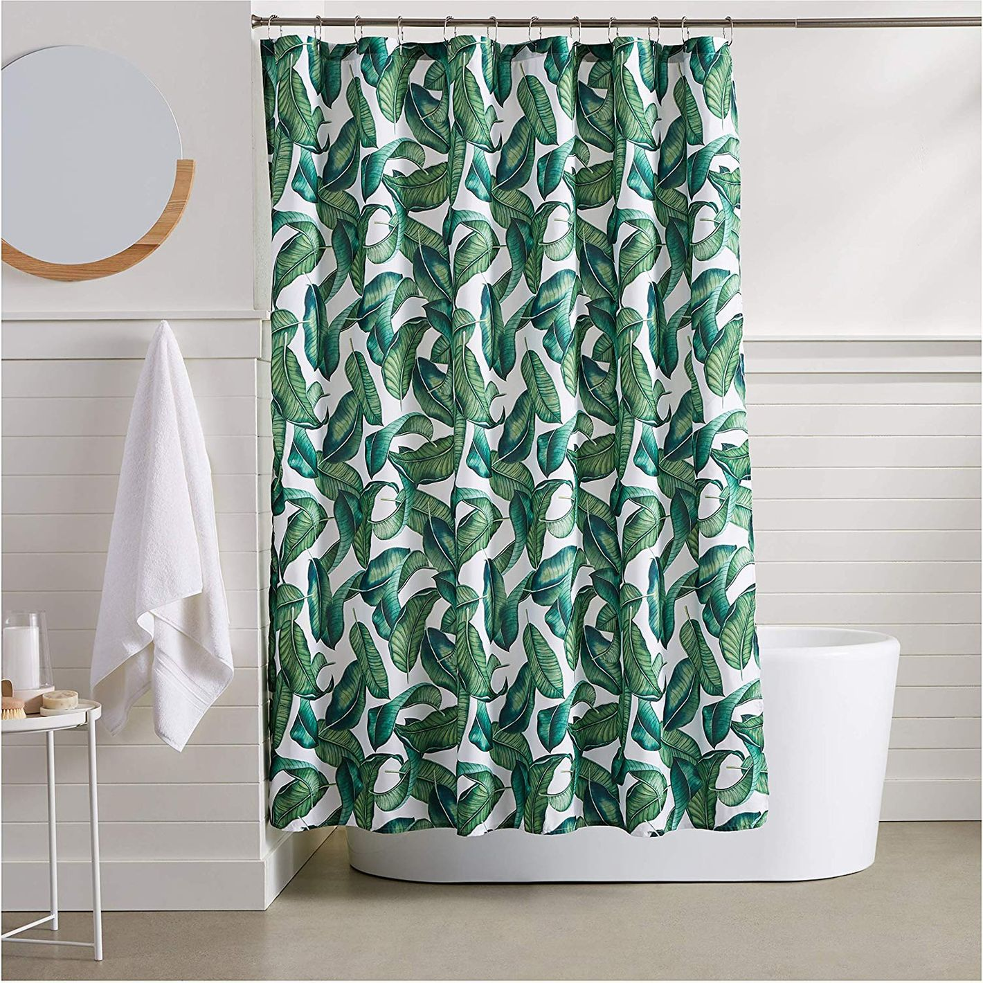 AmazonBasics Tropical Shower Curtain