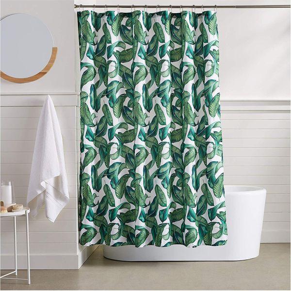 AmazonBasics Tropical Shower Curtain