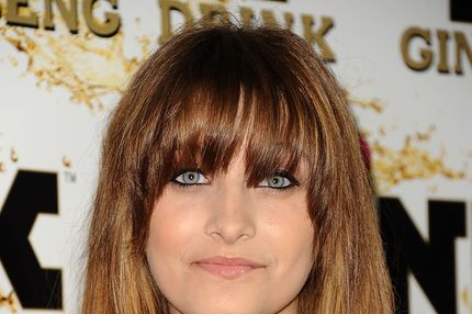 BEVERLY HILLS, CA - OCTOBER 11:  Paris Jackson attends the Mr. Pink Ginseng Drink launch party at Regent Beverly Wilshire Hotel on October 11, 2012 in Beverly Hills, California.  (Photo by Jason LaVeris/FilmMagic)