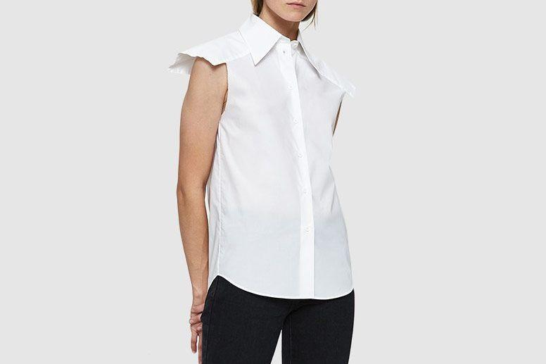 1fa5111ed40d24 MM6 Maison Margiela Parachute Poplin Shirt
