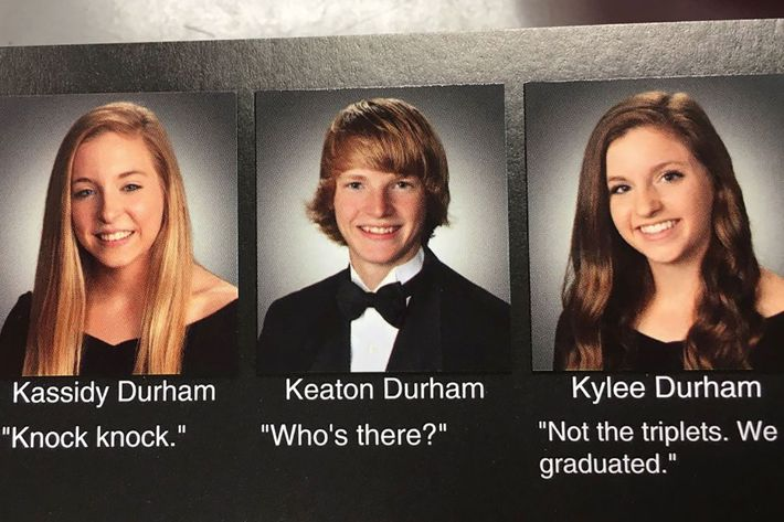 The Best, Funniest Viral Yearbook Quotes Of 2016