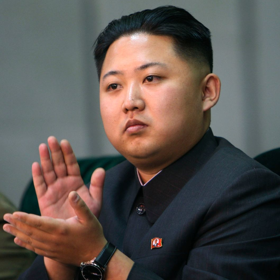 "N. Korea's heir apparent Kim Jong-un In this Oct. 9, 2010, file photo released by China's Xinhua News Agency, Kim Jong-un, the third son and heir apparent of North Korean leader Kim Jong-il, applauds while watching the North's mass gymnastics festival ""Arirang"" in Pyongyang. Kim Jong-il died of a heart attack while on a train trip on Dec. 17, 2011, state media reported Dec. 19."
