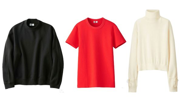 Uniqlo Women U Long-Sleeve Sweatshirt