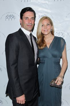 "Jon Hamm, Jennifer Westfeldt== NEW YORK STAGE AND FILM""S Winter Gala== Plaza Hotel, New York== December 4, 2011== ?Patrick McMullan== Photo-JIMI CELESTE/patrickmcmullan.com=="