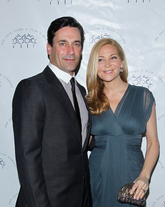 Jon Hamm, Jennifer Westfeldt== NEW YORK STAGE AND FILM