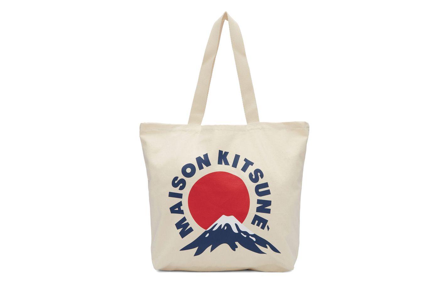 Maison Kitsuné Mount Fuji Tote