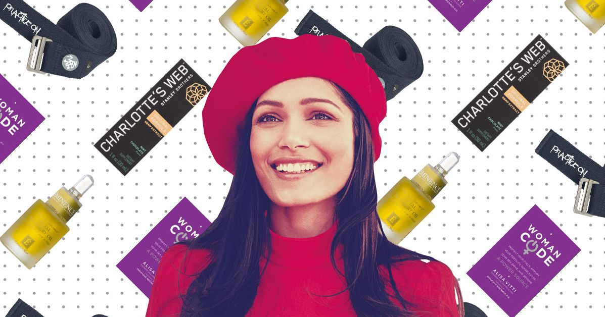 What Freida Pinto Can't Live Without