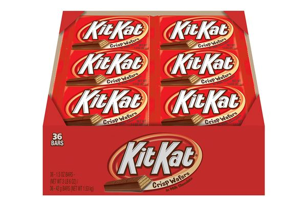 Kit Kat Candy Bar, Milk-Chocolate-Covered Crisp Wafers, 1.5-Ounce Bar (Pack of 36)