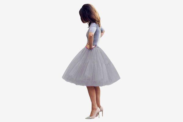Women's Midi Tulle Tutu Skirt