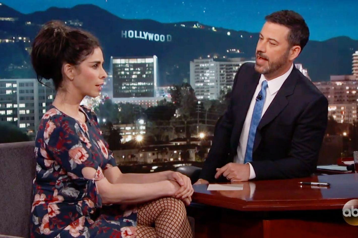 Sarah Silverman Tells Ex Jimmy Kimmel About Her Boyfriend