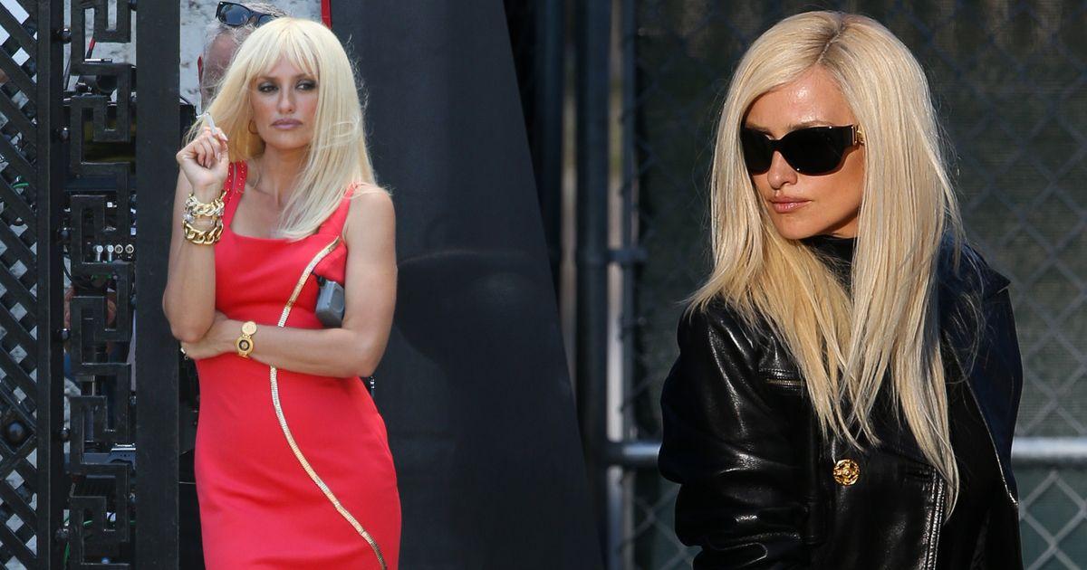 Donatella Versace Reaction American Crime Story