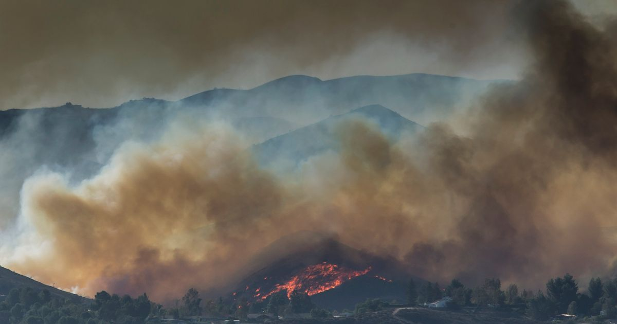 Here's How the California Wildfires Are Affecting Hollywood