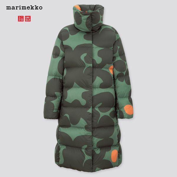 Uniqlo Marimekko Ultra Light Down Cocoon Coat