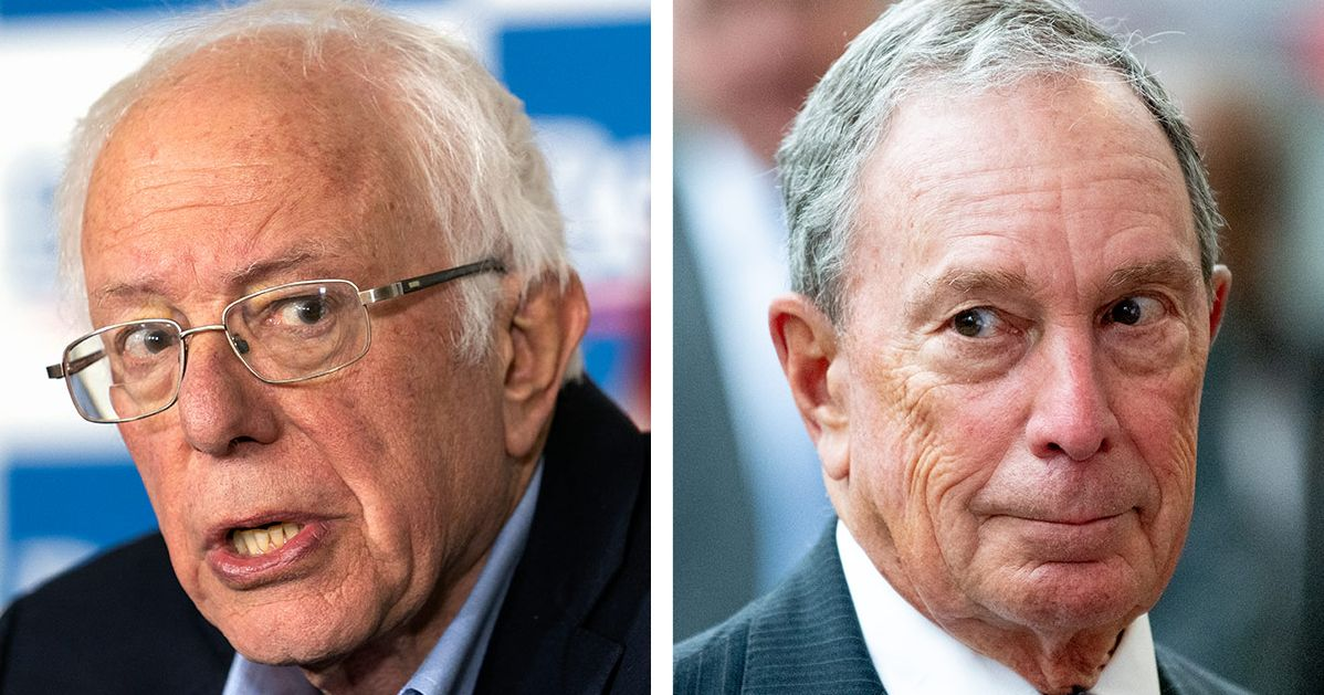 Bernie: I'd Rather Lose Than Let Bloomberg Spend Money on Me