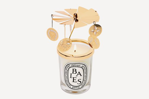Holiday Candle Carousel Topper