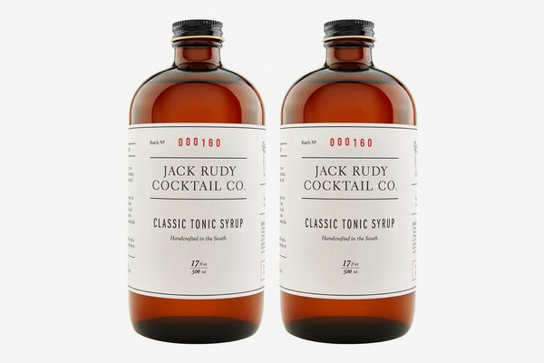 Jack Rudy Cocktail Co. Classic Tonic Syrup (Pack of 2)