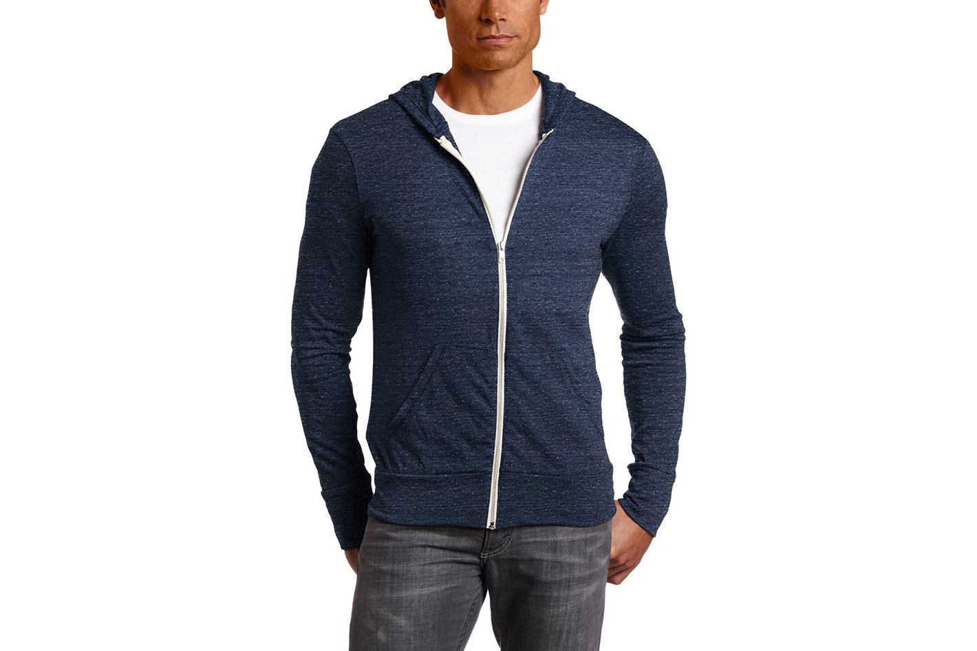 Alternative Men's Eco Zip Hoodie Sweatshirt
