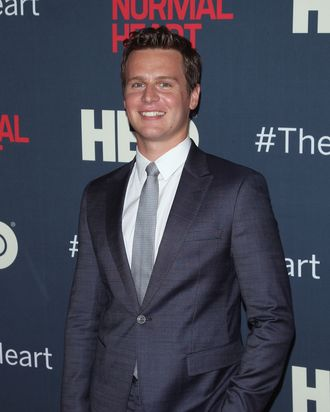 NEW YORK, NY - MAY 12: Actor Jonathan Groff attends