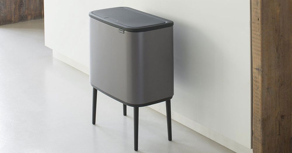 13 Actually Good-Looking Kitchen Trash Cans, According to Interior Designers