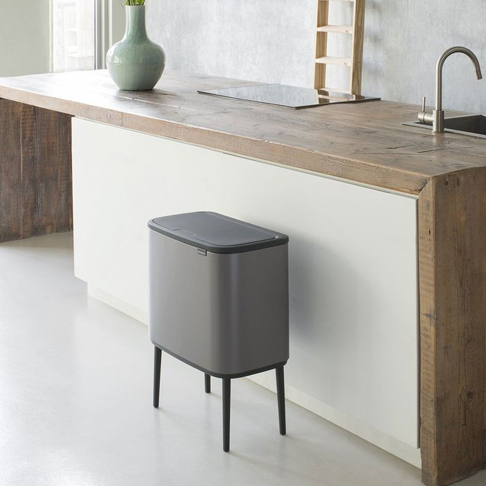 13 Actually Good Looking Kitchen Trash Cans According To Interior Designers