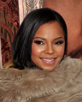 NEW YORK, NY - DECEMBER 06: Singer Ashanti attends the World premiere of