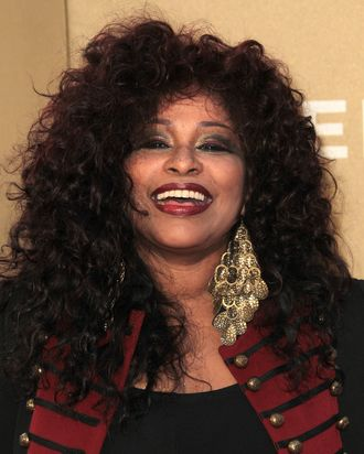 LOS ANGELES, CA - DECEMBER 11: Recording artist Chaka Khan attends the CNN Heroes: An All-Star Tribute at The Shrine Auditorium on December 11, 2011 in Los Angeles, California. (Photo by Frederick M. Brown/Getty Images)