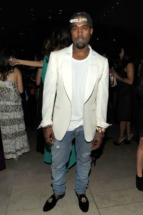 NEW YORK, NY - JUNE 06:  Kanye West attends a supper following the 2011 CFDA Fashion Awards at Alice Tully Hall, Lincoln Center on June 6, 2011 in New York City.  (Photo by Larry Busacca/Getty Images)