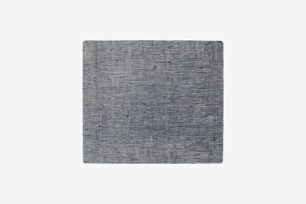 Modern Twist Linen-Print Placemat