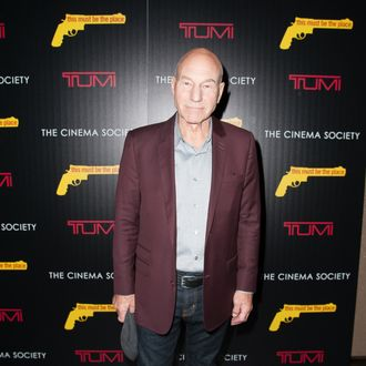 Patrick Stewart attends The Weinstein Company With The Cinema Society And Tumi Host A Screening Of