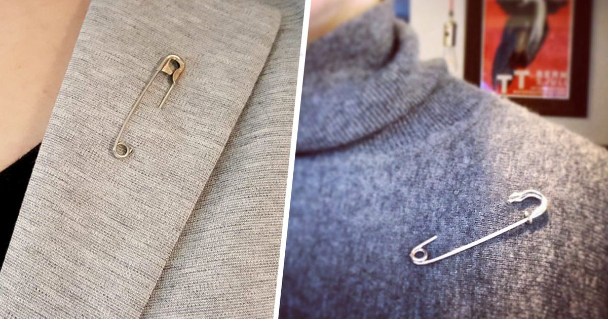 People Are Wearing Safety Pins As a Show of Solidarity