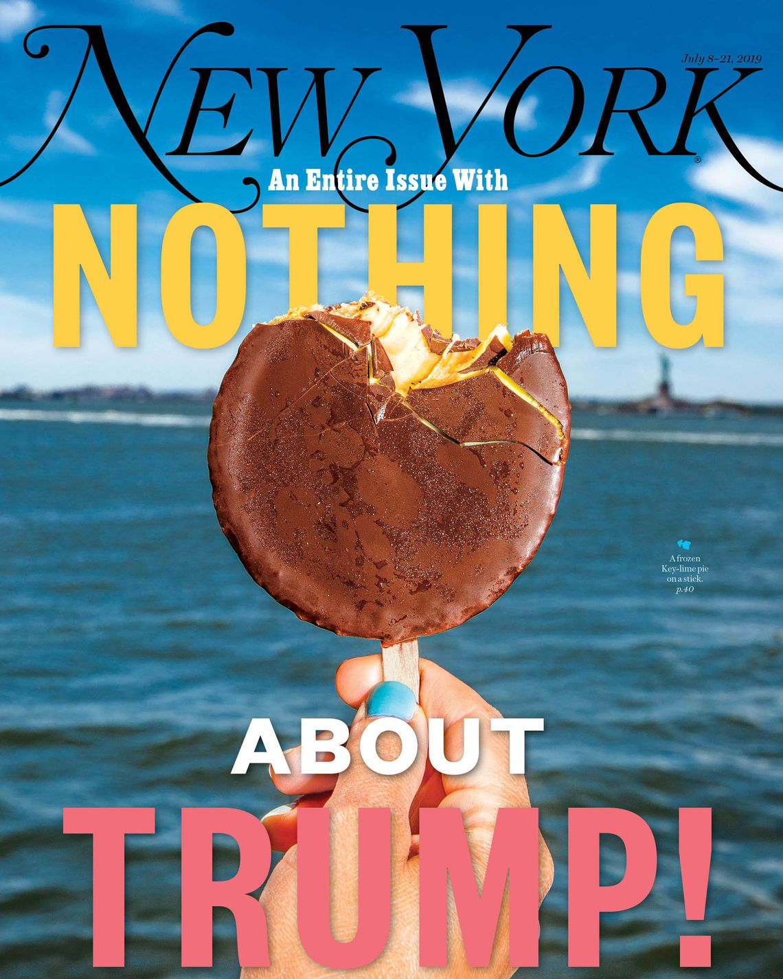 On the Cover: An Entire Issue With Nothing About Trump