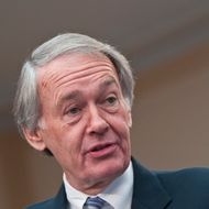 WASHINGTON, DC - MARCH 07: Edward Markey speaks during a Congressional Briefing on Protecting Children and Teen Online Privacy at the Rayburn House Office Building on March 7, 2012 in Washington, DC. (Photo by Kris Connor/Getty Images)