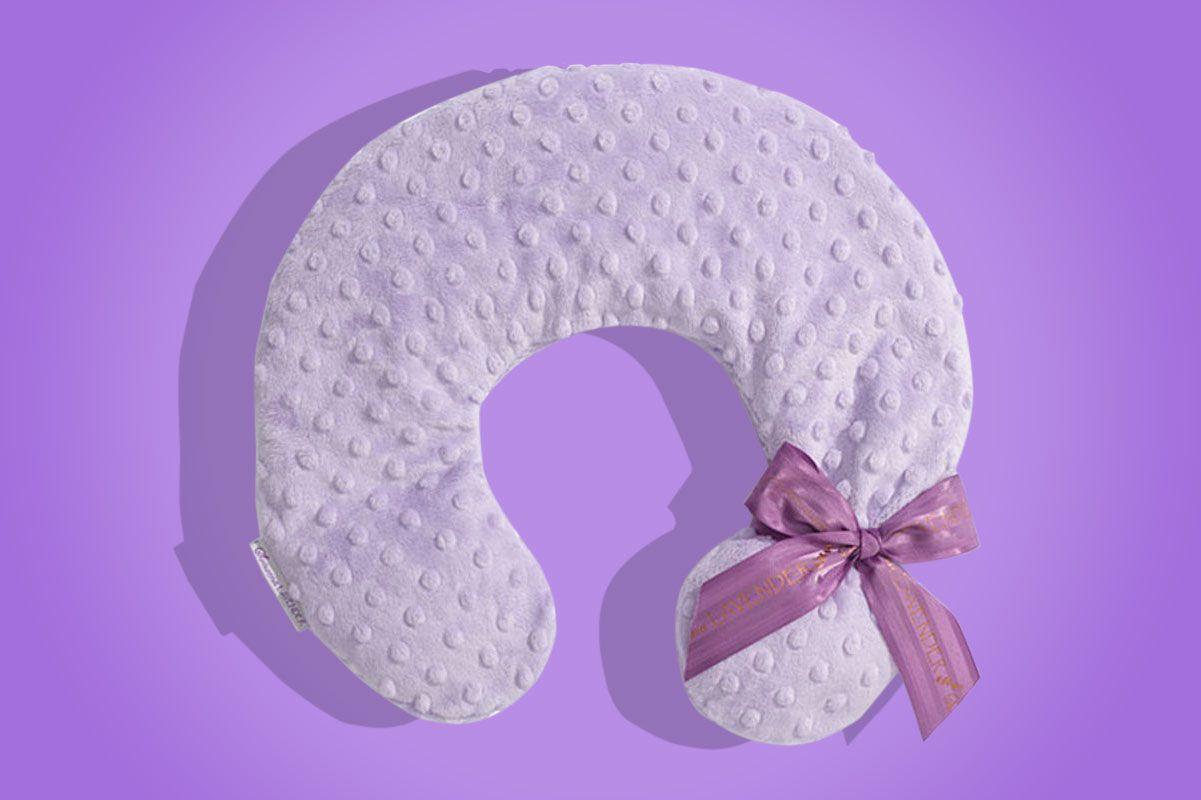 Microwavable pillow lavender