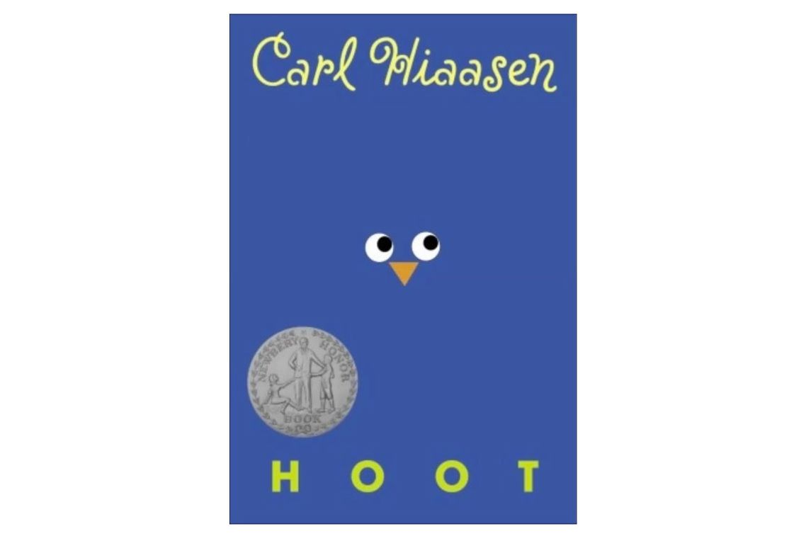 """Hoot,"" by Carl Hiaasen"