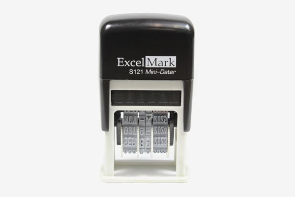 ExcelMark Self-Inking Date Stamp